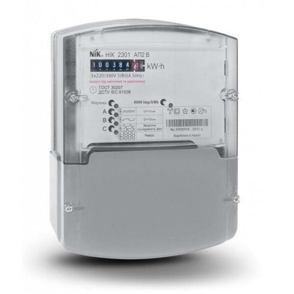 Однотарифный счетчик электроэнергии НИК 2301 АП2В 5(60)А