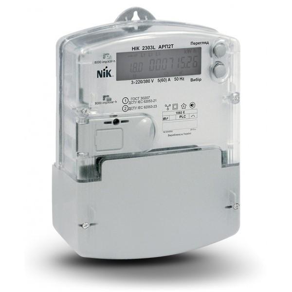 Счетчик электроэнергии НИК 2303L АРП3-1000 МE  5(120)А, 3х220/380В