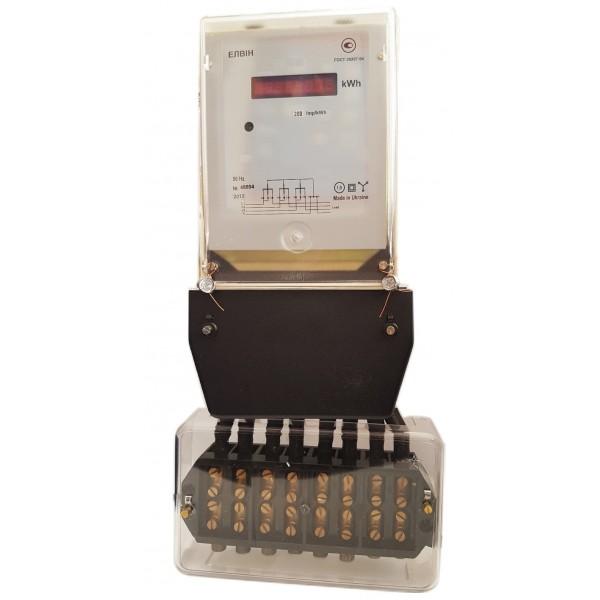 Счетчик электроэнергии Элвин ET 3B6E8GLMP-20  10(200)А, 3х220/380В