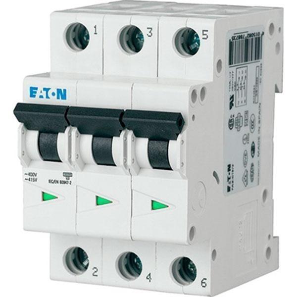 Автоматический выключатель Eaton PL4-C 6A/3