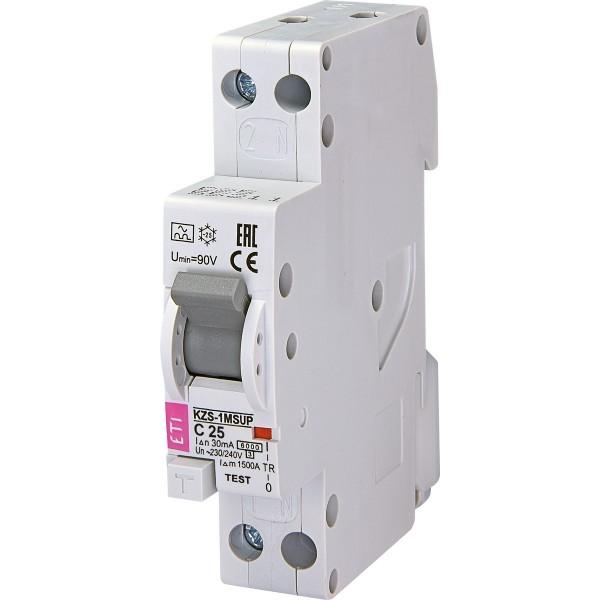 Дифавтомат KZS-1M SUP C25/0,03  6kA