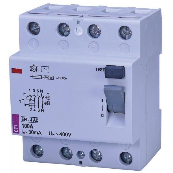 Дифреле EFI-4  100/0,03  10kA