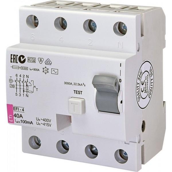 Дифреле EFI-4  40/0,1  10kA