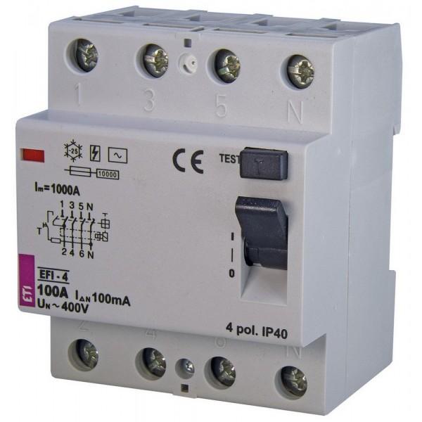 Дифреле EFI-4  100/0,1  10kA