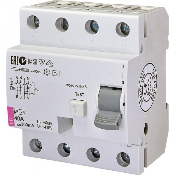 Дифреле EFI-4  40/0,3  10kA