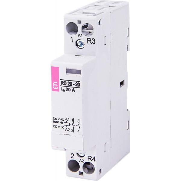 Контактор модульный RD 20-20  230V
