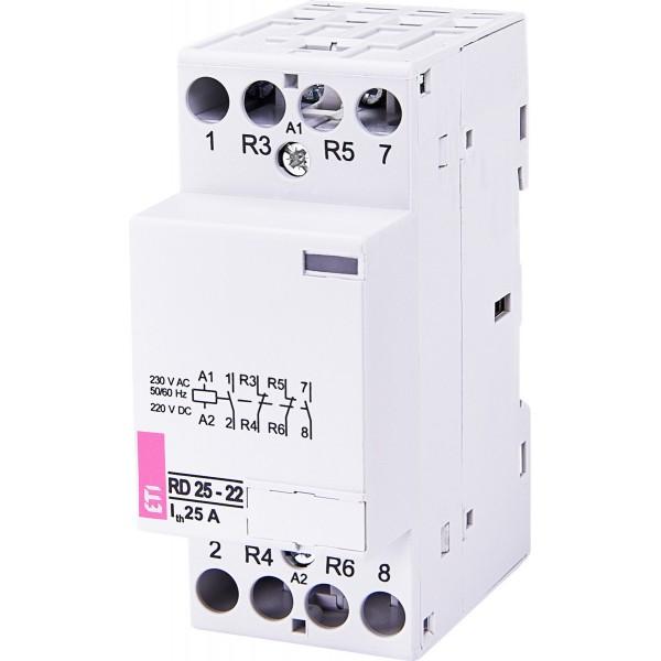 Контактор модульный RD 25-22 230V