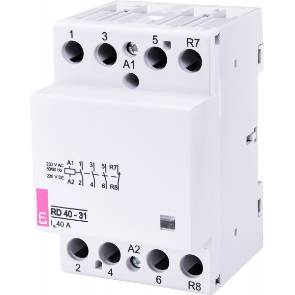 Контактор модульный RD 40-31 230V