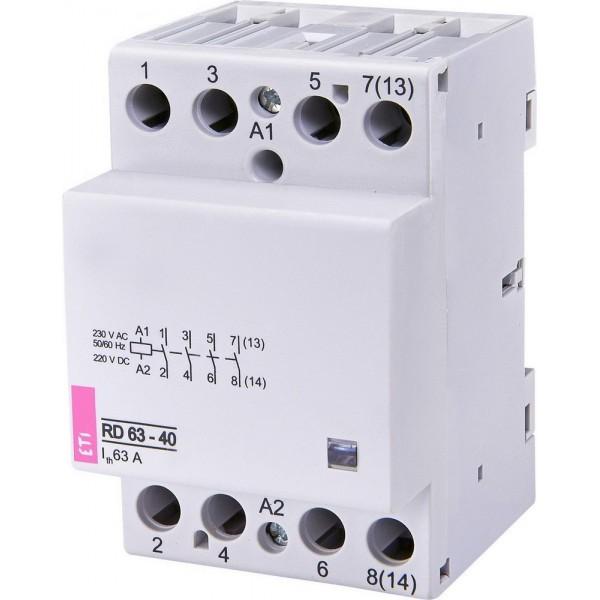 Контактор модульный RD 63-40 230V