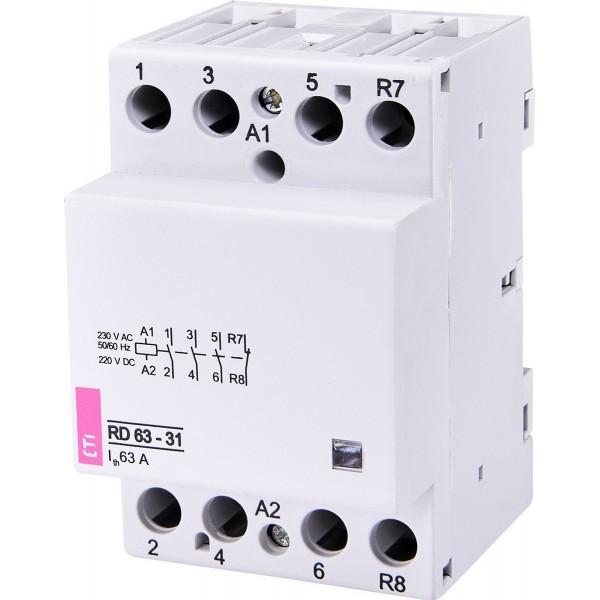 Контактор модульный RD 63-31 230V