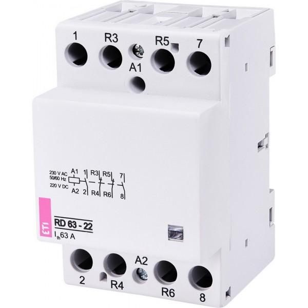 Контактор модульный RD 63-22 230V