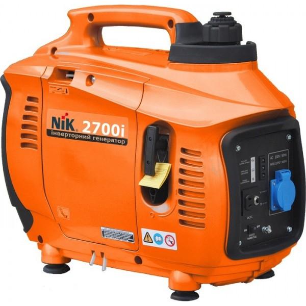 Генератор бензиновый NIK 2700i 2,5кВт, 220В