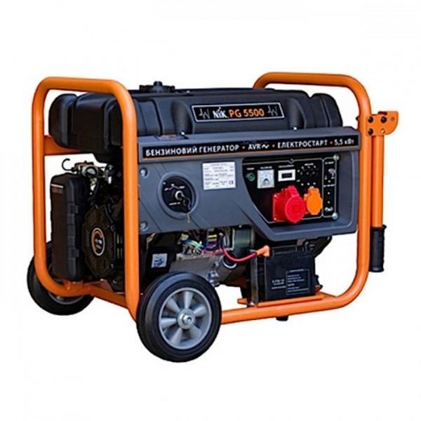 Бензиновый генератор NIK PG5500