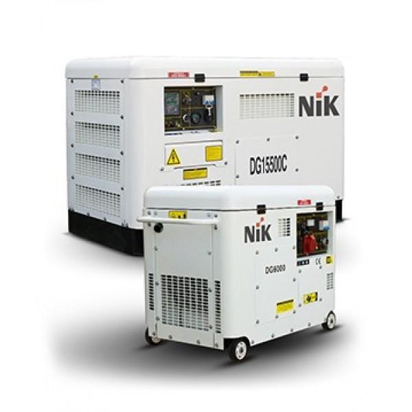 Генератор дизельный NIK DG5000 5,0кВт, 220В