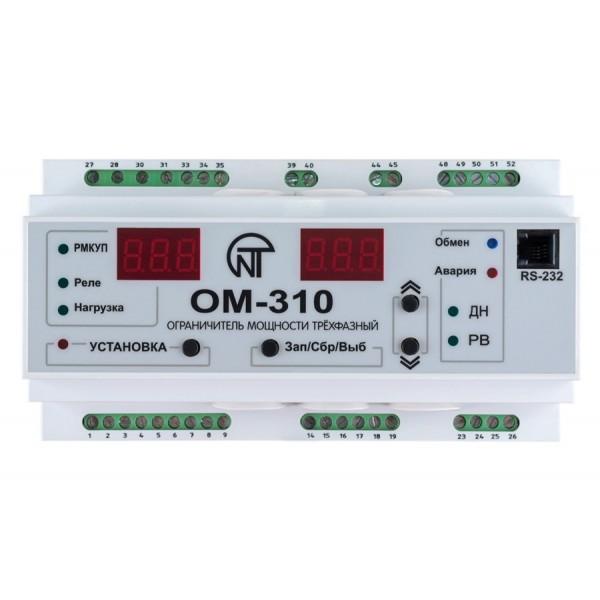 Реле ограничения мощности Новатек OM-310
