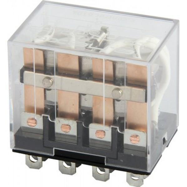 Реле промежуточное e.control.p1046 10А, 4 групы контактов, котушка 230В АC