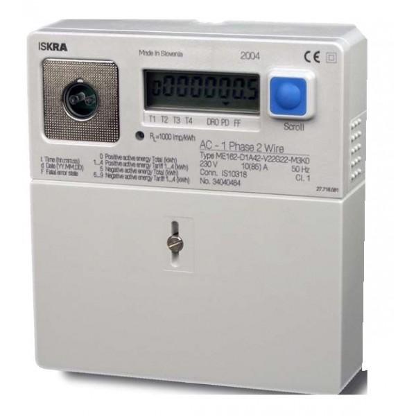 Счётчик электрической энергии Iskra МЕ162-D1 A44-V12L11-M3KO однофазный
