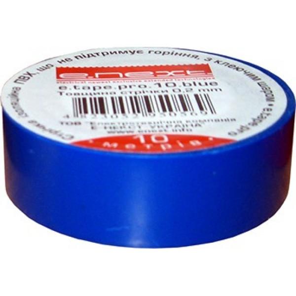 Изоляционная лента е.tape.pro.10.blue, синяя (10м)