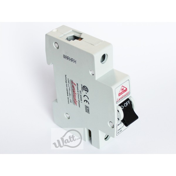 Автоматический выключатель Havells 1p C 40A 6kA