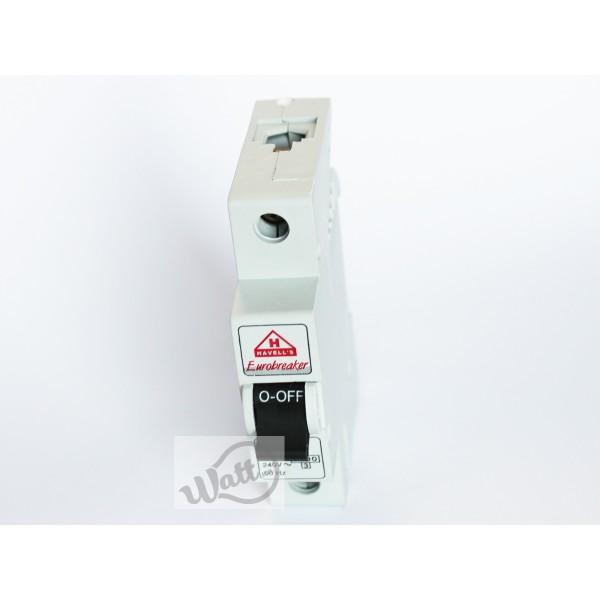 Изображение №1 для товара Автоматический выключатель Havells 1p C 40A 6kA