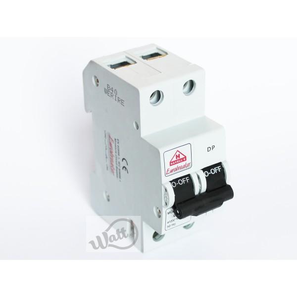 Автоматический выключатель Havells 2p C 20A 6kA